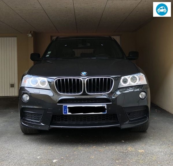 BMW X3 F25 Xdrive Pack M Toutes Options 2012