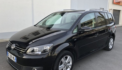 Volkswagen Touran 1.6 TDI 105 Ch Match Toit Pano 2012