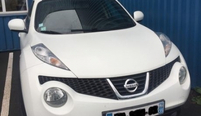 NISSAN JUKE 1.5 dCi 110 cc Acenta blanc 99000 km 2011