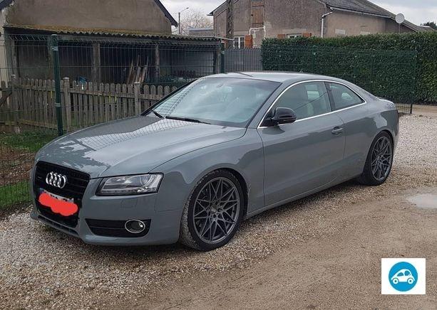 Audi A5 3 L TDI 240 gris nardo 2008