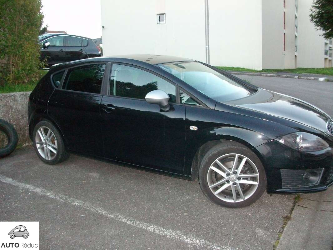 achat seat leon 2 0 tdi fr d 39 occasion pas cher 12 500. Black Bedroom Furniture Sets. Home Design Ideas