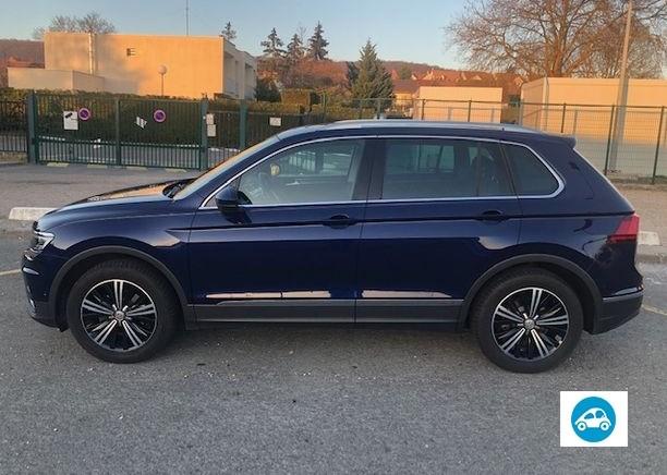 Volkswagen tiguan carat boite DSG 7