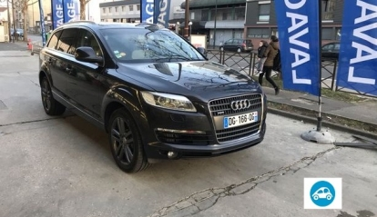 Audi Q7 pack AVUS 7 places 2007