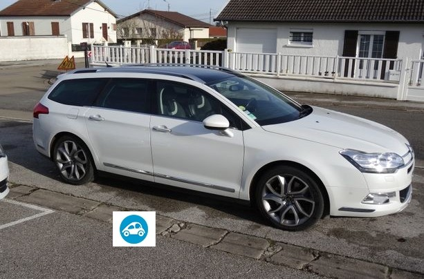Citroen c5 tourer 2.2 hdi bva exclusive +