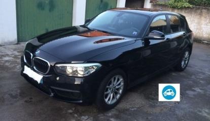BMW serie 1 noir 5 portes