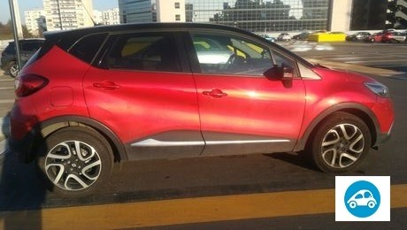 Renault captur rouge