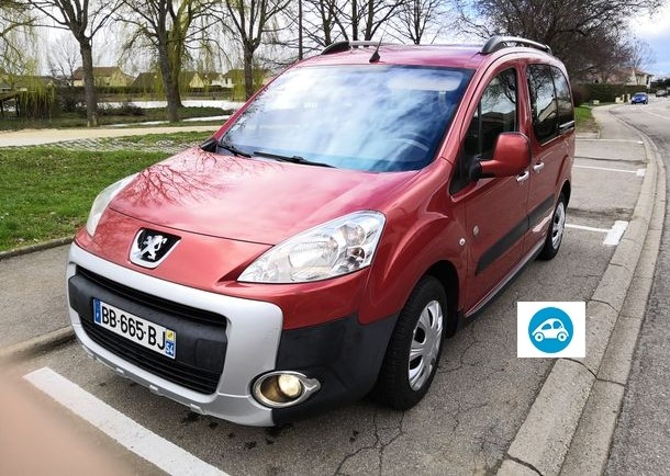 Peugeot Partner tepee 1,6l hdi outdoor Gps