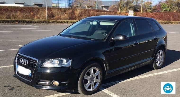 Audi A3 Sportback 1.6 TDI 105 Noir