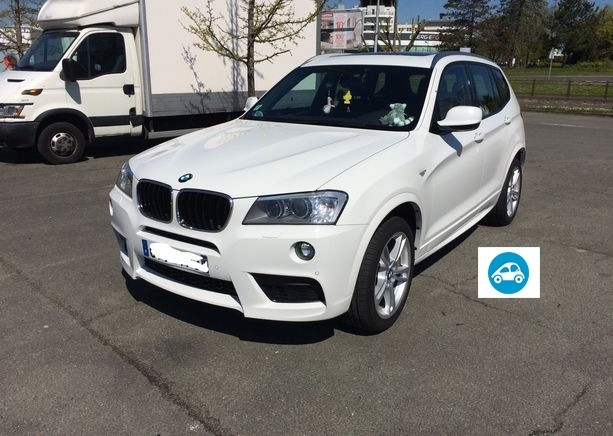 BMW X3(F25)(2)XDRIVE 20DA 190 M SPORT