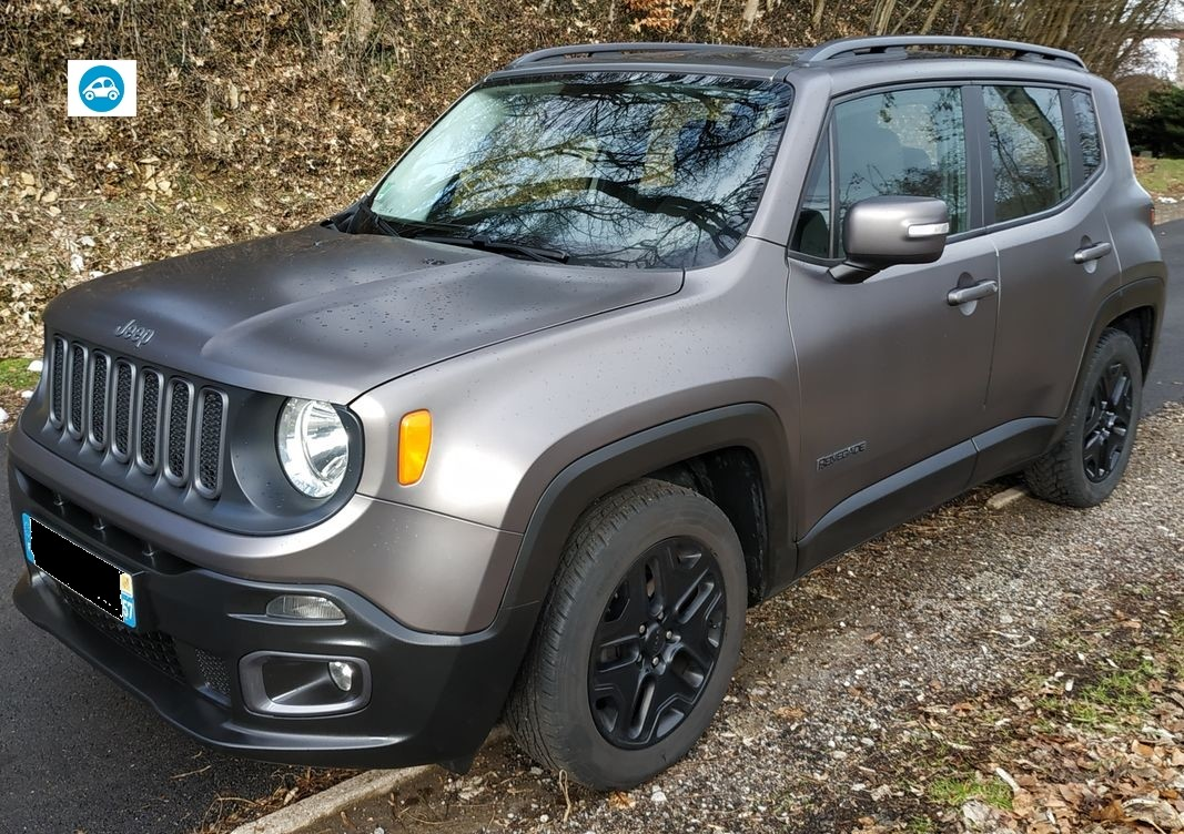 jeep renegade multijet S&S edition limitée night eagle
