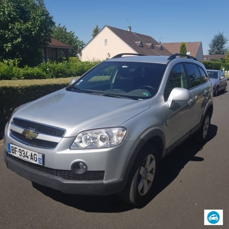 Chevrolet Captiva Navi Family Pack