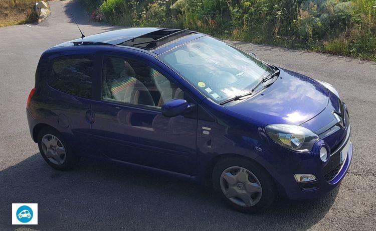Renault Twingo 2 Purple