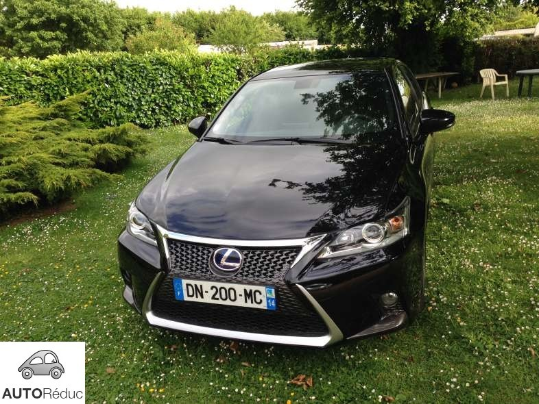 achat lexus ct hybride fsport d 39 occasion pas cher 26 000. Black Bedroom Furniture Sets. Home Design Ideas