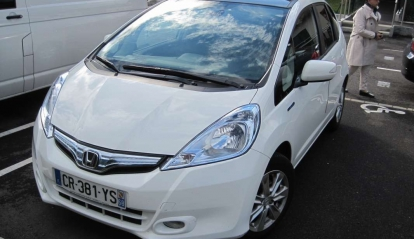 Honda Jazz Hybride Luxury