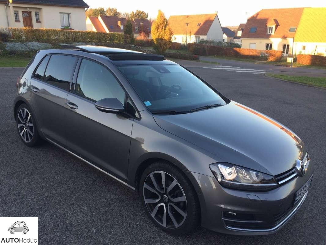 achat volkswagen golf vii 2 0 tdi bluemotion dsg6 carat d 39 occasion pas cher 22 900. Black Bedroom Furniture Sets. Home Design Ideas