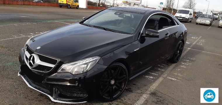Mercedes Classe E Coupe Pack AMG