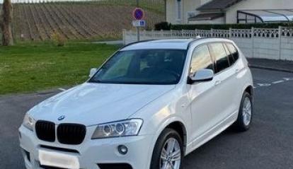 BMW X3 F25 35D X Drive