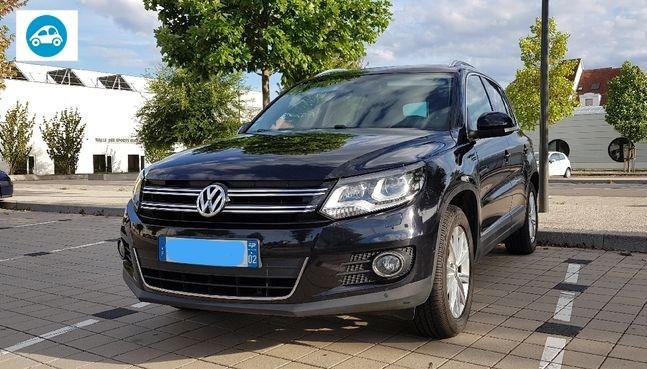 Volkswagen Tiguan Carat Bleumotion Technologie