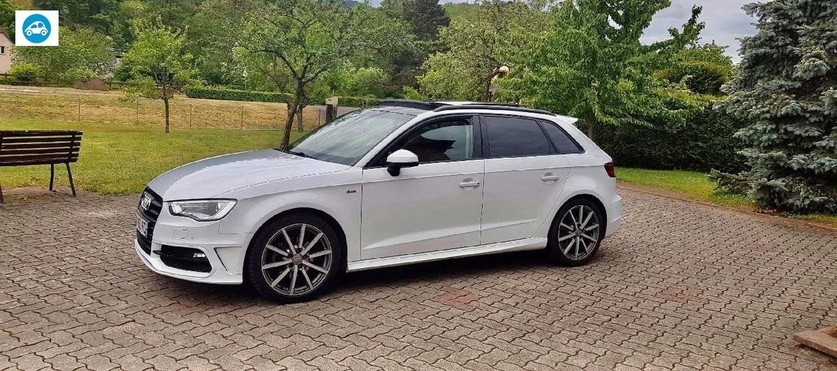 Audi A3 TDI S Line Sportback Stronic