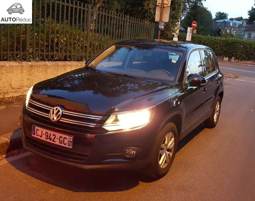 achat volkswagen tiguan 2 0 tdi bluemotion d 39 occasion pas cher 16 800. Black Bedroom Furniture Sets. Home Design Ideas