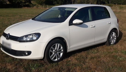 Volkswagen Golf 6 1.6 TDI 105 FAP Bluemotion