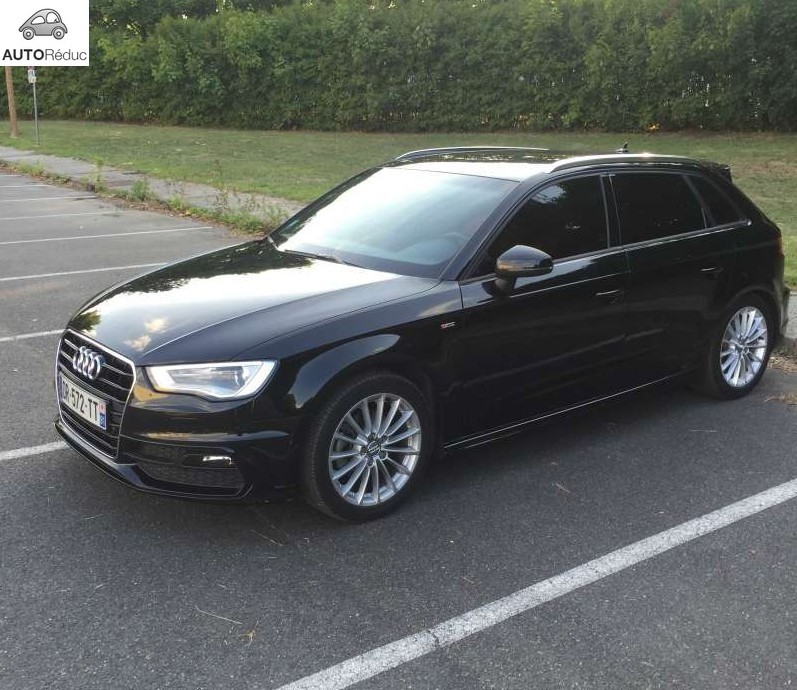 achat audi a3 sportback 2 0 tdi s line ambition luxe d 39 occasion pas cher 24 600. Black Bedroom Furniture Sets. Home Design Ideas