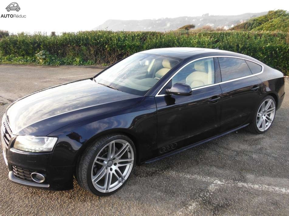 achat audi a5 sportback 3 0 tdi quattro s line d 39 occasion pas cher 26 000. Black Bedroom Furniture Sets. Home Design Ideas
