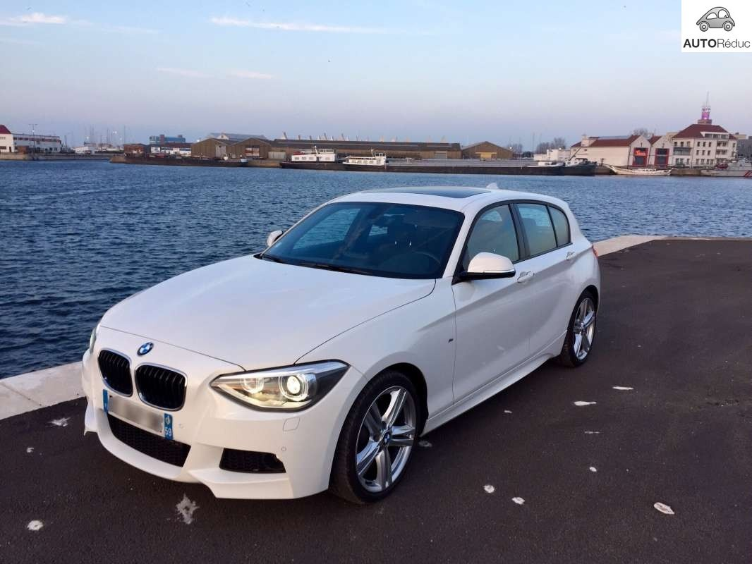 achat bmw s rie 1 118d xdrive pack m sport d 39 occasion pas cher 28 000. Black Bedroom Furniture Sets. Home Design Ideas
