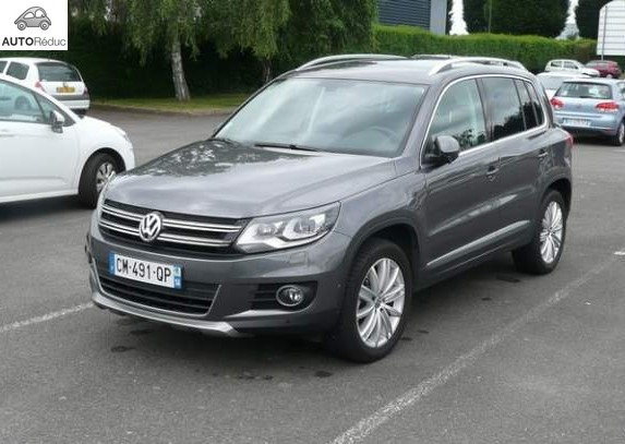achat wolkswagen tiguan 2 0 tdi bluemotion d 39 occasion pas. Black Bedroom Furniture Sets. Home Design Ideas