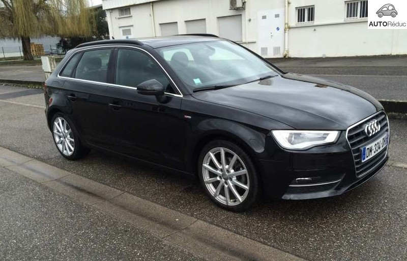 achat audi a3 sportback 2 0 tdi s line d 39 occasion pas cher 31 000. Black Bedroom Furniture Sets. Home Design Ideas