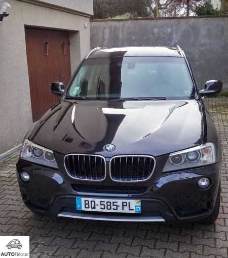 achat bmw x3 xline d 39 occasion pas cher 21 000. Black Bedroom Furniture Sets. Home Design Ideas