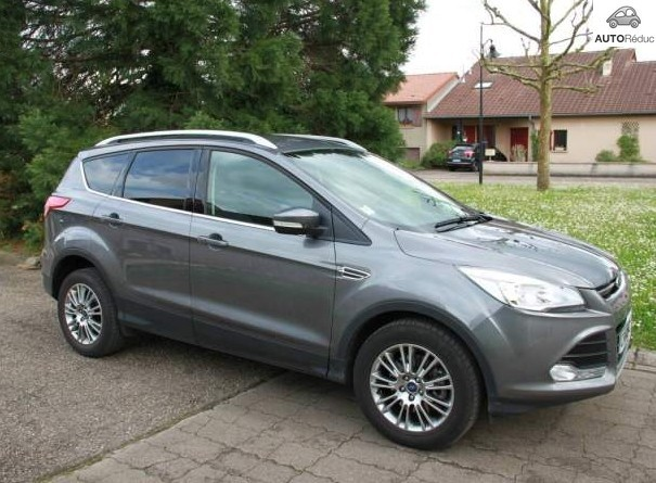 achat ford kuga 2 0 tdci titanium d 39 occasion pas cher 18 500. Black Bedroom Furniture Sets. Home Design Ideas