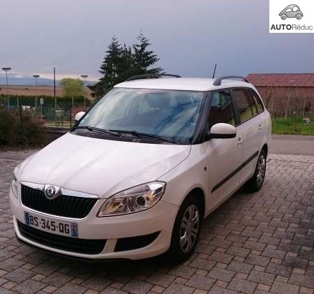 achat skoda fabia combi break 1 6 tdi active d 39 occasion. Black Bedroom Furniture Sets. Home Design Ideas