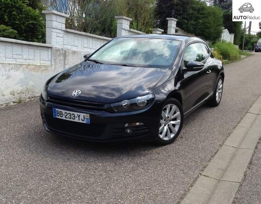 achat volkswagen scirocco 2 0 tdi sportline d 39 occasion pas cher 13 000. Black Bedroom Furniture Sets. Home Design Ideas