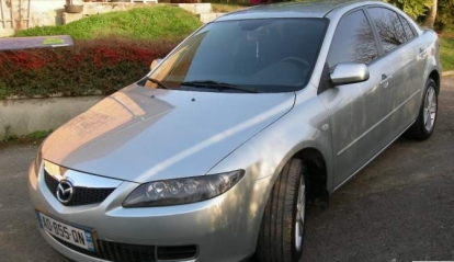 MAZDA 6 MZR CD 120 Elégances