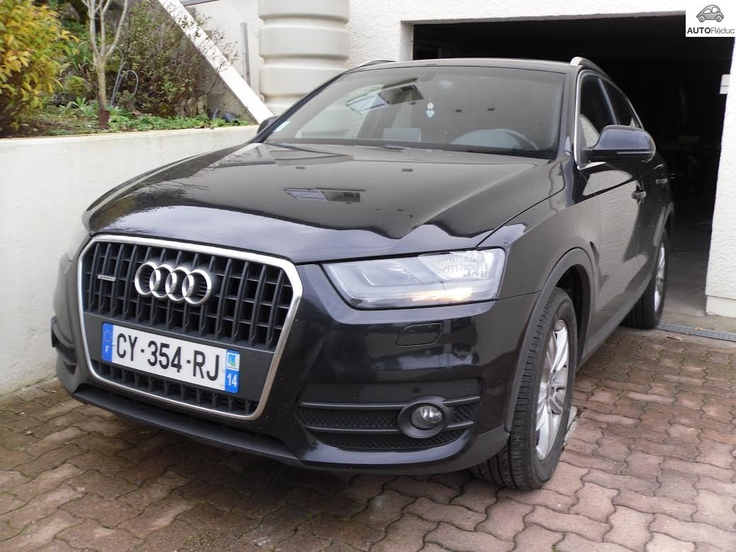 achat audi q3 2 0 tdi ambition luxe d 39 occasion pas cher 25 500. Black Bedroom Furniture Sets. Home Design Ideas