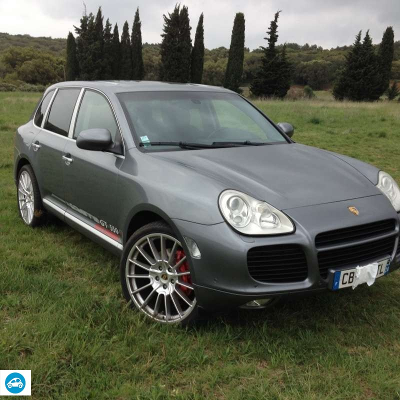 achat porsche cayenne turbo 2003 d 39 occasion pas cher 15 500. Black Bedroom Furniture Sets. Home Design Ideas