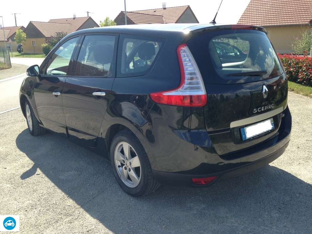 achat renault grand scenic 3 dci 2010 d 39 occasion pas cher 8 750. Black Bedroom Furniture Sets. Home Design Ideas