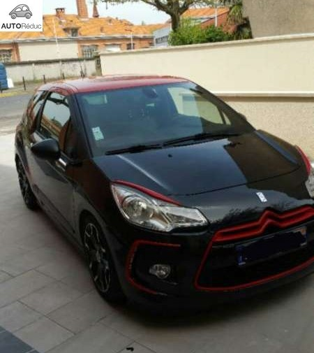 achat citroen ds3 thp sport chic look racing 2012 d 39 occasion pas cher 13 500. Black Bedroom Furniture Sets. Home Design Ideas