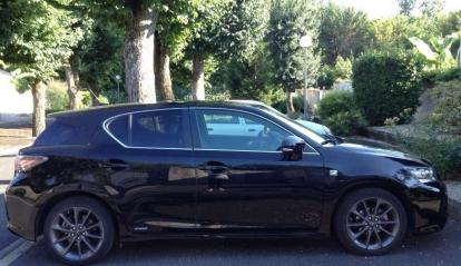 Lexus CT Hybride 2012