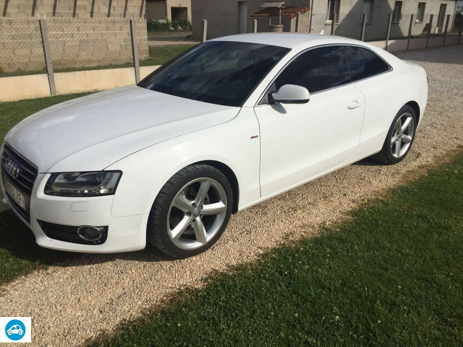 achat audi a5 2 l tdi s line 2010 d 39 occasion pas cher 18 500. Black Bedroom Furniture Sets. Home Design Ideas