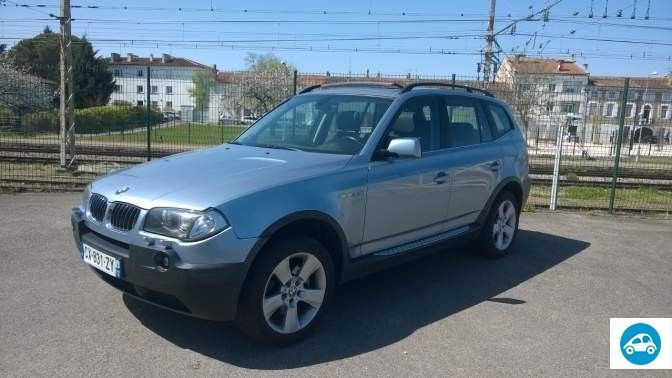 achat bmw x3 3 0 l luxe 2006 d 39 occasion pas cher 14 500. Black Bedroom Furniture Sets. Home Design Ideas