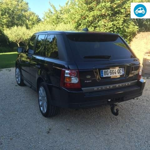 achat range rover sport tdv6 hse 2 7 2008 d 39 occasion pas. Black Bedroom Furniture Sets. Home Design Ideas