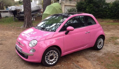 Fiat 500 SO Pink Edition Limitée 2010