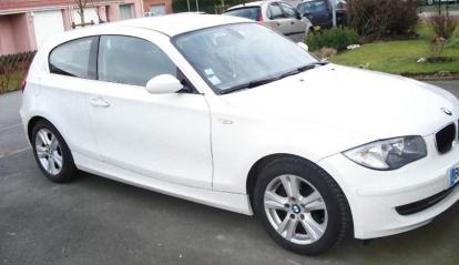 BMW SERIE 1 BLANCHE 143 CH DIN