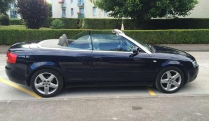 Audi A4 2.5 TDI Cabriolet V6 2002