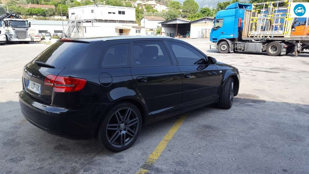 achat audi a3 sportback 2 0 tdi ambition luxe 2006 d 39 occasion pas cher 6 500. Black Bedroom Furniture Sets. Home Design Ideas