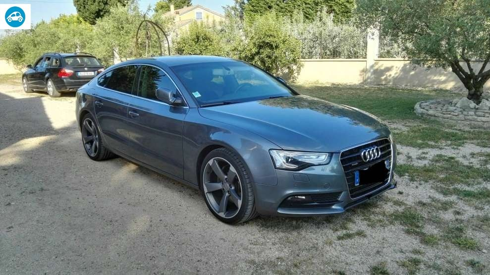 achat audi a5 3 0 l avus sportback 2012 d 39 occasion pas cher 28 500. Black Bedroom Furniture Sets. Home Design Ideas