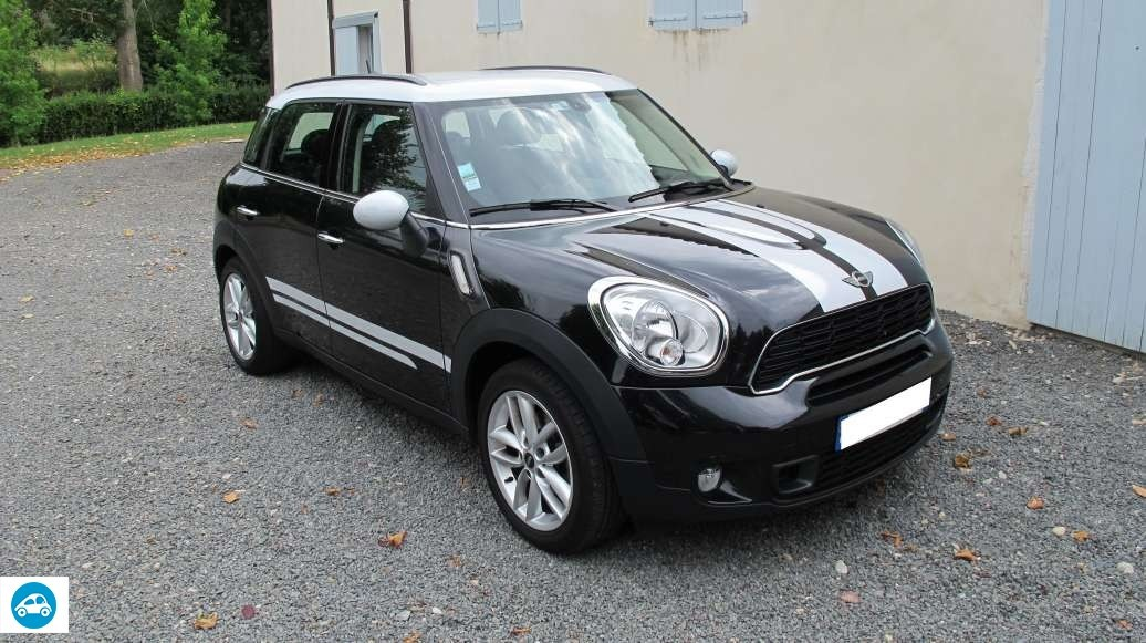 achat mini cooper countryman 2012 d 39 occasion pas cher 18 400. Black Bedroom Furniture Sets. Home Design Ideas