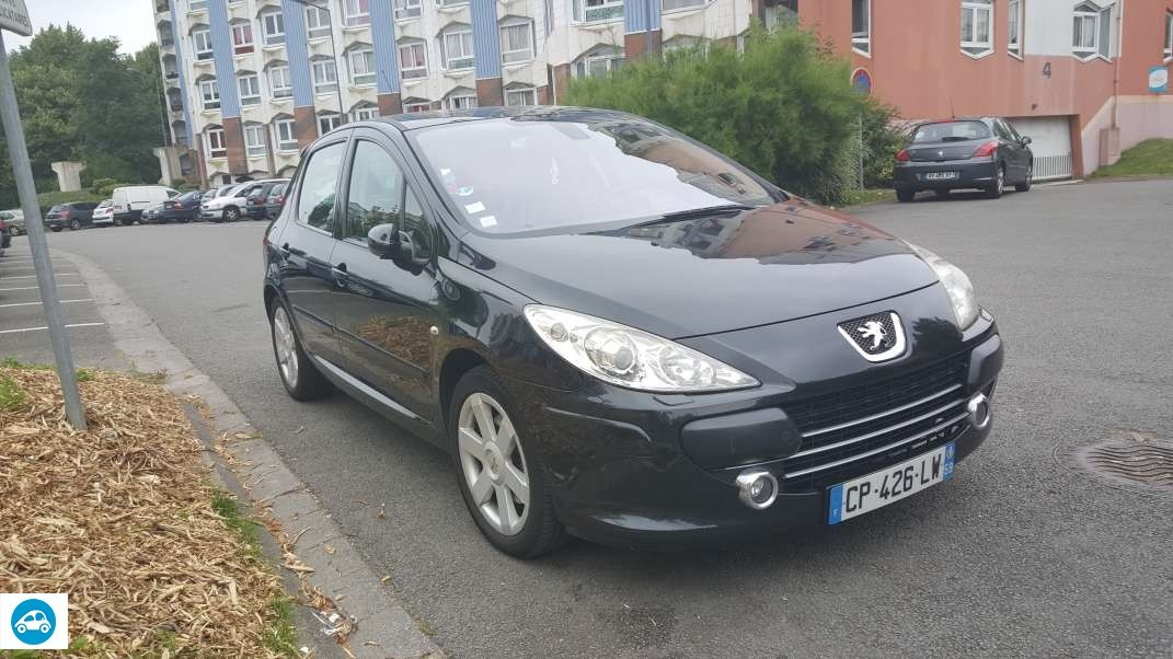 achat peugeot 307 2 0 hdi 136 full 2006 d 39 occasion pas cher 5 200. Black Bedroom Furniture Sets. Home Design Ideas